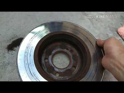 Mercedes W203, Снятие Тормозных Дисков на Проточку, диски бьют при торможении ®️