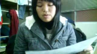 童惠慧(老師您昨天有看到我寄的信嗎 抱歉遲交了 因為youtube昨天我一直傳不上去)