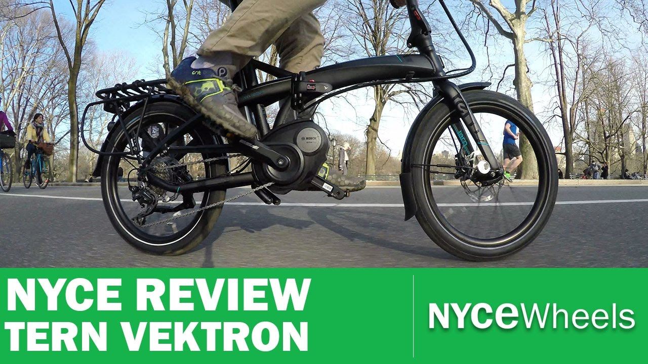 tern vektron bosch powered folding bike electric bike. Black Bedroom Furniture Sets. Home Design Ideas