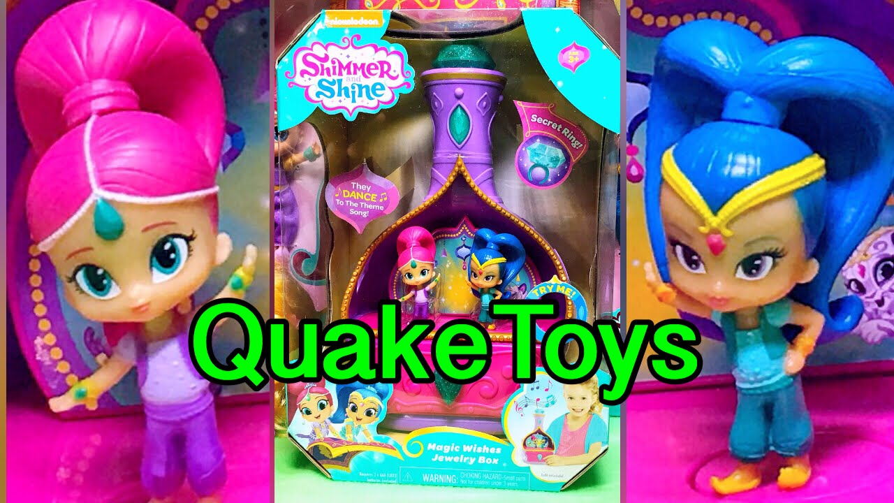 Nickelodeon Shimmer and Shine Magic Wishes Singing and Dancing Twin