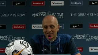 Fabián Coito, entrenador de Honduras, tras la derrota con Estados Unidos en la Nations League