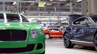 Так собирают Ваш Bentley Continental GT