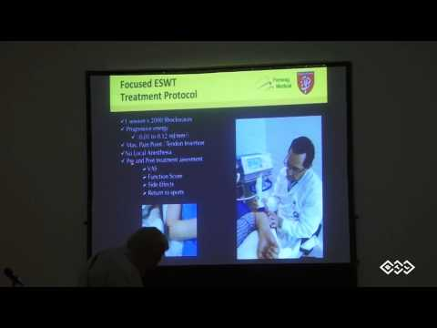 Shockwave therapy in sports medicine - Dr. Carlos Leal
