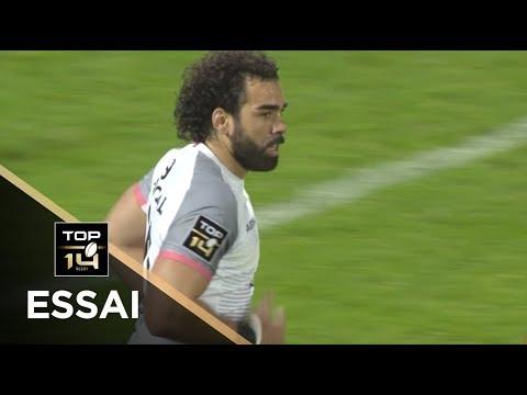 TOP 14 - Essai Yoann HUGET (ST) - Clermont - Toulouse - J26 - Saison 2017/2018
