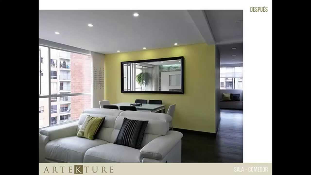 Proyecto de remodelaci n y dise o interior bogot youtube for Remodelacion de casas interiores