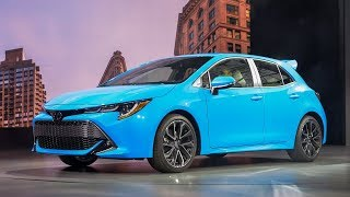 SURPRISING! 2019 TOYOTA COROLLA HATCHBACK INTERIOR & EXTERIOR