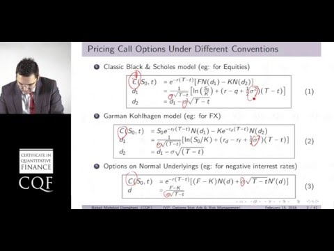 Implied Volatility surface Parameterization (Part 1/2)