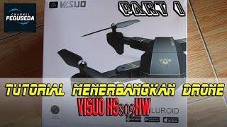Cara Mudah Menerbangkan Drone Visuo XS809HW #Part1