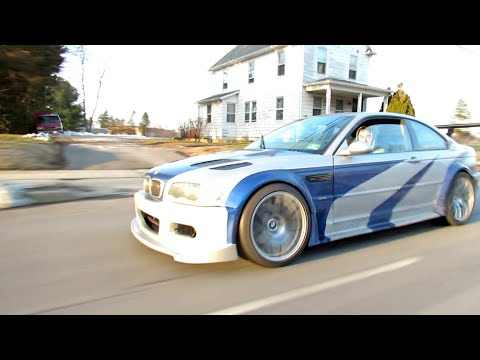 Nfs Most Wanted Bmw M3 Gtr Real Life Youtube