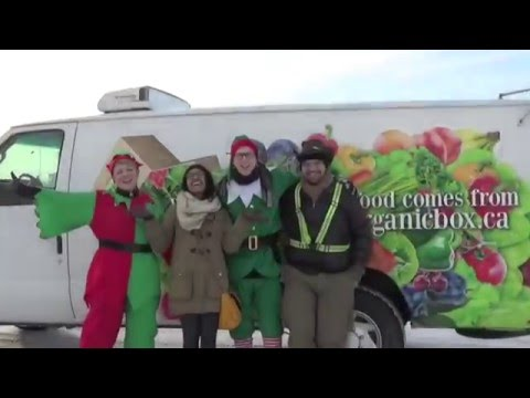 Holiday Hamper Delivery 2015 for the Christmas Bureau of Edmonton