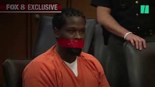 """Ce juge fait bâillonner un accusé en plein procès après lui avoir dit de la """"fermer"""""""