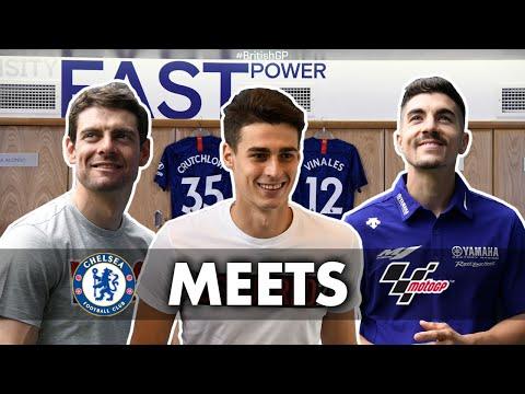 MotoGP™ meets Chelsea F.C.   2019 #BritishGP