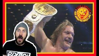 Reaction   JERICHO WINS IWGP INTERCONTINENTAL CHAMPIONSHIP AT NJPW DOMINION 2018!!!