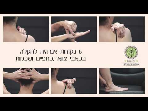 6 נקודות הקסם בגוף שיגברו על הכאב
