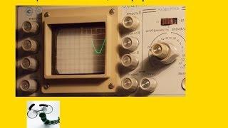 видео: Измерение частоты осциллографом. Frequency measurement oscillographs