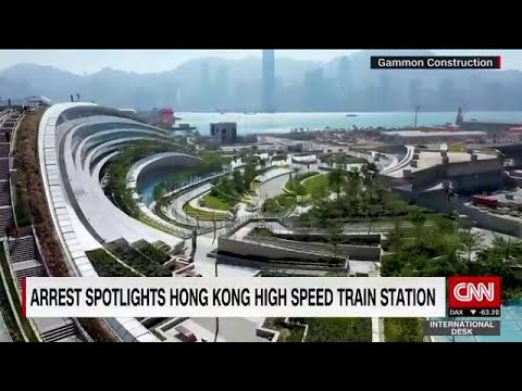 China's arrest of Hong Kong man puts spotlight on West Kowloon Station