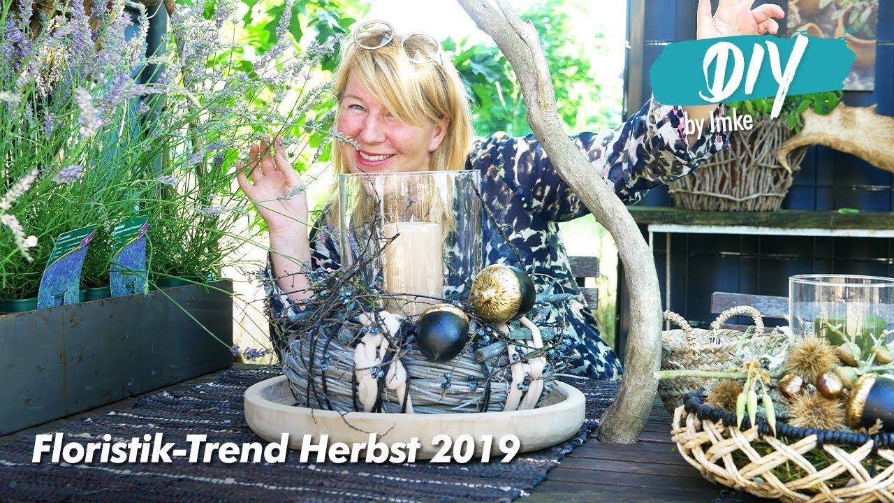 floristik trend herbst 2019 youtube. Black Bedroom Furniture Sets. Home Design Ideas