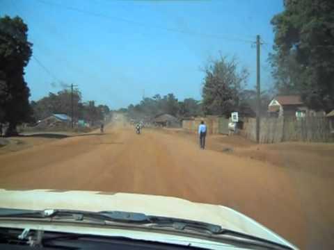 Driving in Yei