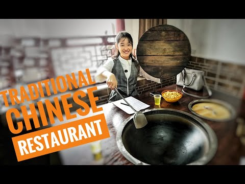 Traditional Chinese Restaurant, Travel In China, Authentic Chinese Food, 老灶台土灶  - Enshi, Hubei