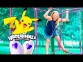 HATCHIMAL and POKEMON Hunt The Assistant Fun Play Date at the Park