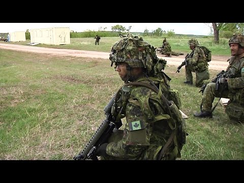 Canadian Army High Value Target Training