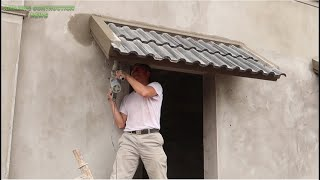 How To Build Aฑd Install Terracotta Tiles On A Beautiful Small Slope Exactly For Your House