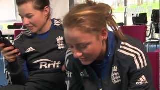 England women Twitter chat