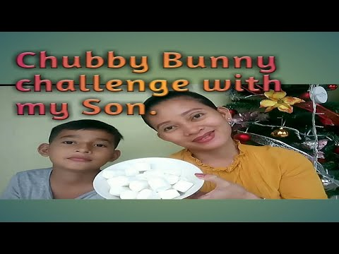 CHUBBY BUNNY CHALLENGE WITH MY SON/Verlyn Lauron