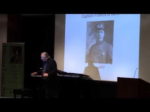 """2014 Hibernian Lecture: """"Chief O'Neill's Music of Ireland"""" with Mícheál Ó Súilleabháin (Part 1)"""
