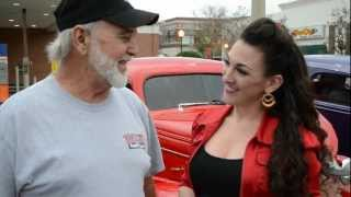 Pin Up America Show 2/9/13: Roller Derby, Pinup Posing,Plant City Classic Car Show