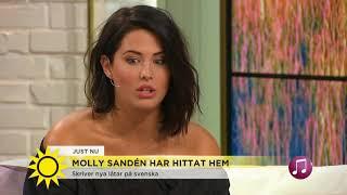 """Molly Sandén: """"Till och med salladen du äter ska se snygg ut"""" - Nyhetsmorgon (TV4)"""