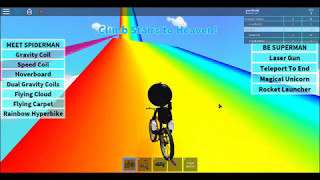 climb stairs to heaven GamePlay {ROBLOX}