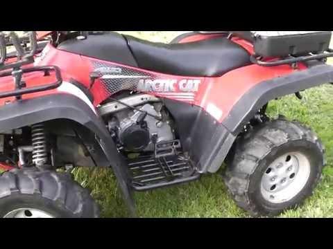 Ultimax Tips - Arctic Cat ATV drive belt change | FunnyCat TV