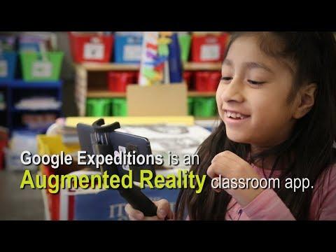 Google Expeditions visits Lindeneau Elementary School