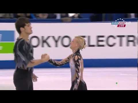Swan Lake ballet on ice by Volosozhar & Trankov at 2012 World Championship