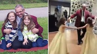 9-Year-Old Twins Dance with Bone Marrow Transplant Donor Who Saved Their Lives