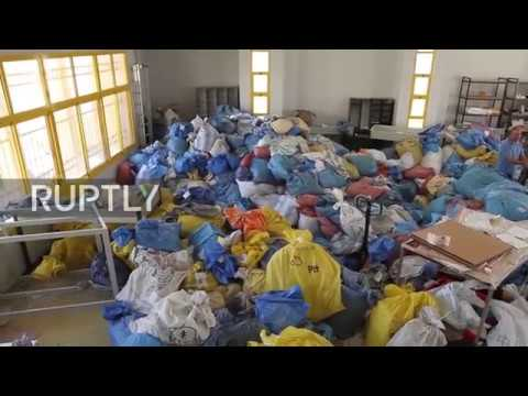 State of Palestine: 10 tons of mail withheld by Israel for 8 years swamp West Bank post office