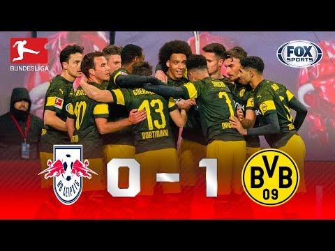RB Leipzig - Borussia Dortmund [0-1] | GOLES | Jornada 18 | Bundesliga