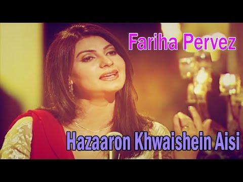 """Hazaaron Khwaishein Aisi"" | Sad Song | Live Performance | Fariha Pervez"