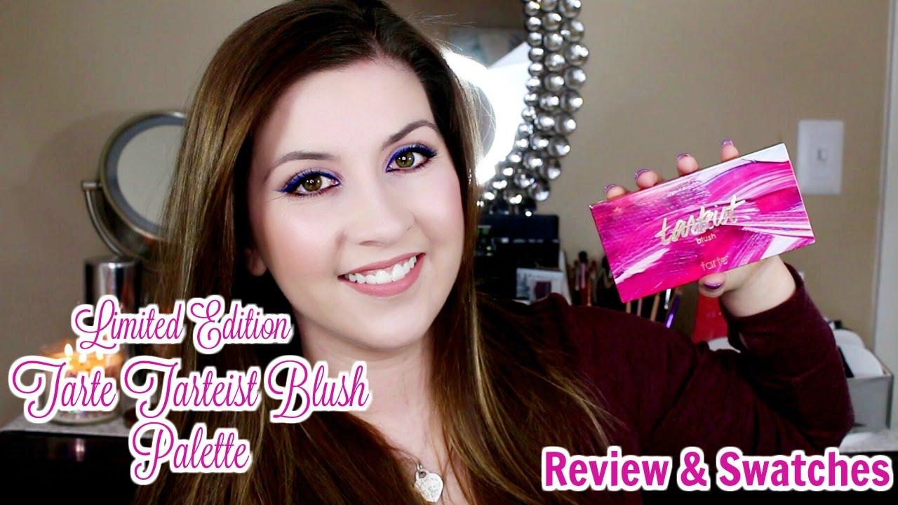Tarte Limited Edition Tarteist Blush Palette Review Swatches