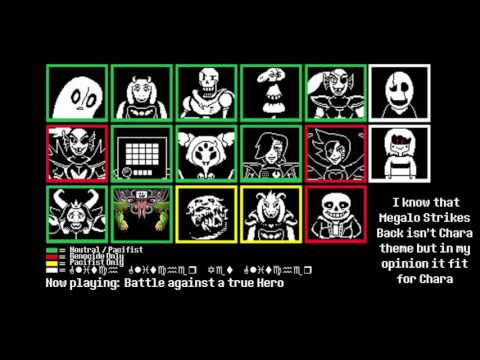 [HerobrineTV]Undertale: Undertale All Bosses Theme