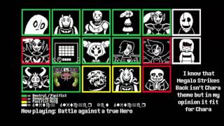 [HerobrineTV]Undertale: Undertale All Bosses Theme