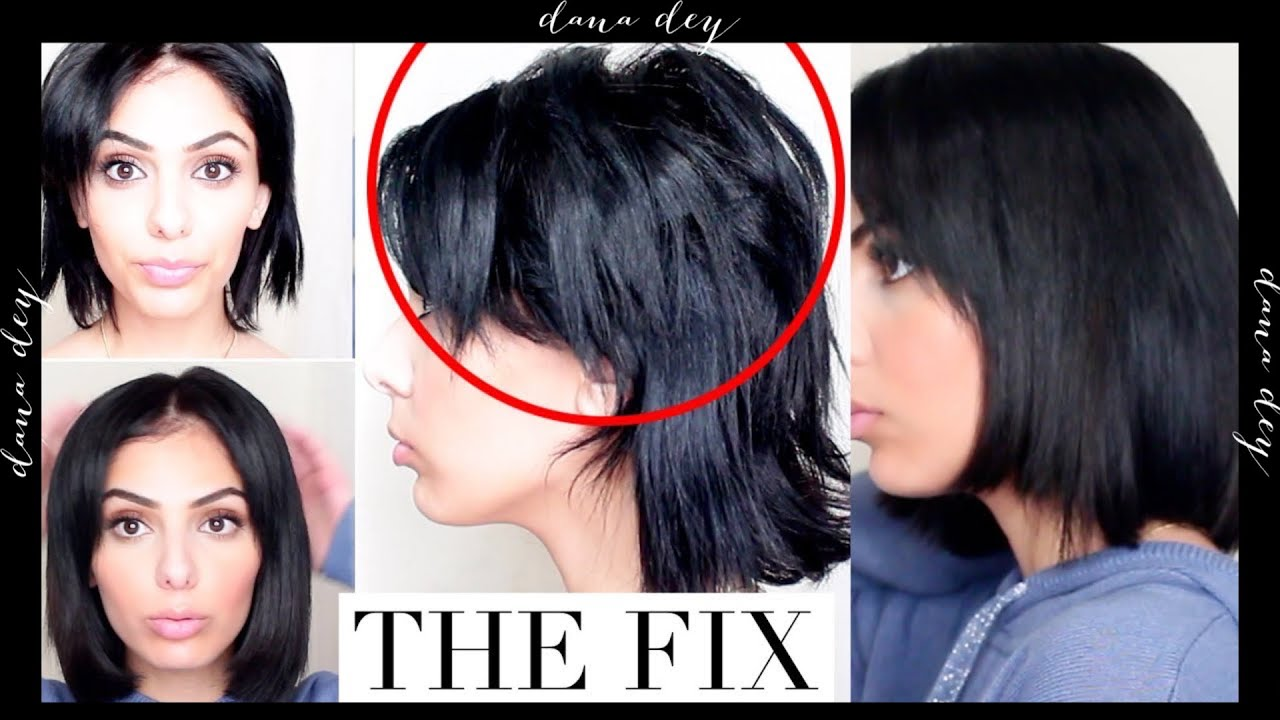 WHAT TO DO WITH BROKEN HAIR AT THE CROWN / TOP OF HEAD - HAIR FIX