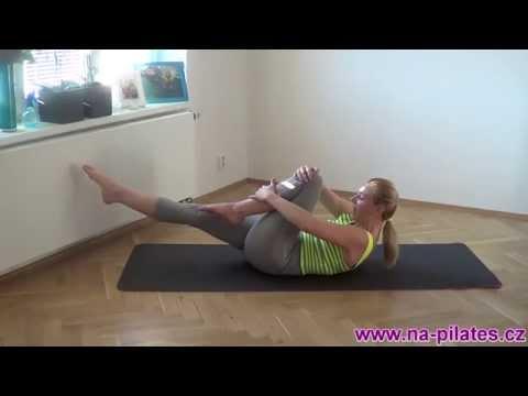 Pilates cviky na břišní svaly // www.na-pilates.cz //