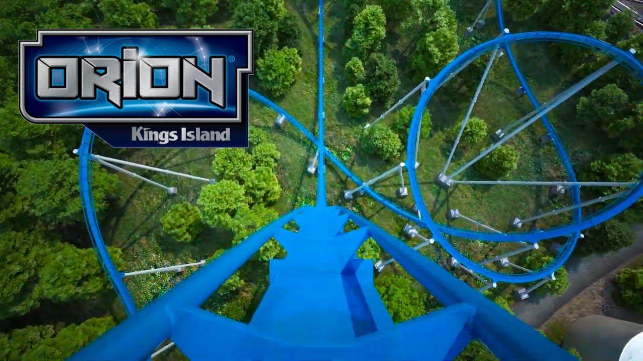 Orion Roller Coaster Front Seat POV Kings Island 2020 Giga Coaster - YouTube