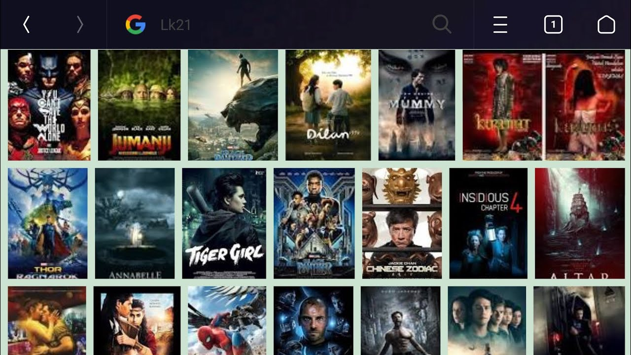 Tutorial Cara download film bioskop gratis