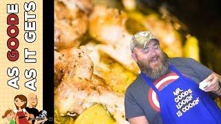 Crock Pot Mississippi Chicken Thighs