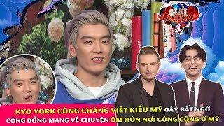 Kyo York cùng chàng Việt Kiều Mỹ gây bất ngờ cộng đồng mạng về chuyện ôm hôn nơi công cộng ở Mỹ 😜