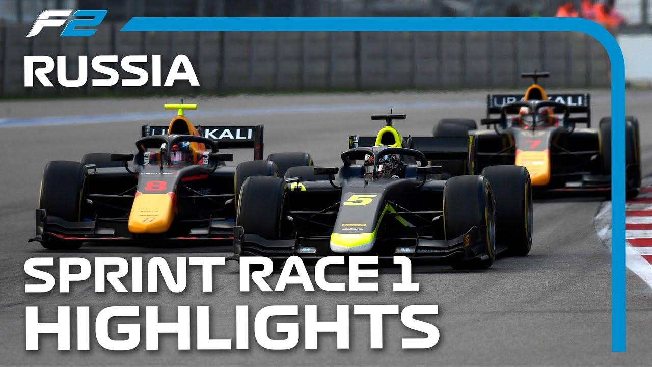 Download F2 Sprint Race 1 Highlights | 2021 Russian Grand Prix