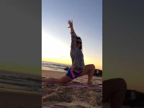 California Beach-Side Yoga Flow